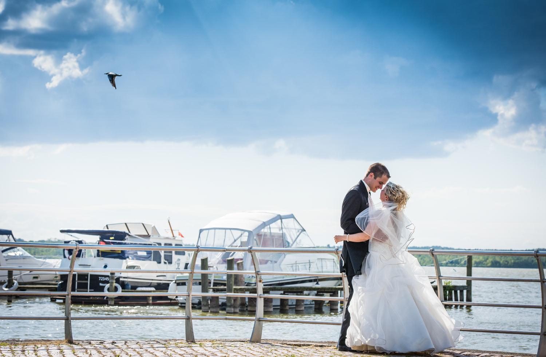 Eine Hochzeit am See
