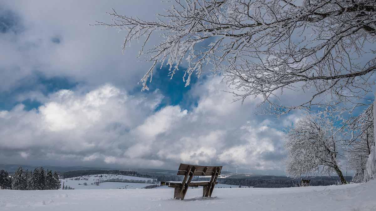 Hoherodskopf im Winter