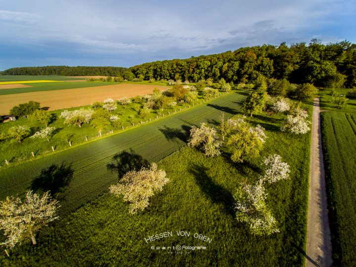 Hessen von oben – Frühling in der Wetterau
