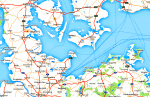 Karte Ostsee